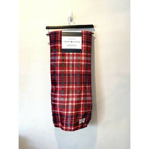 New Tommy Hilfiger Red Plaid Christmas Holiday